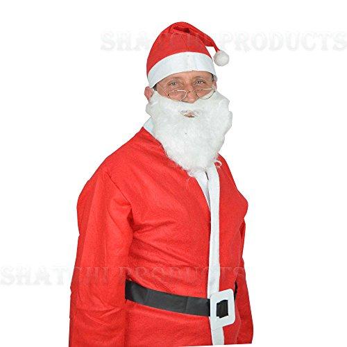 Santa - Disfraz de Papá Noel adultos