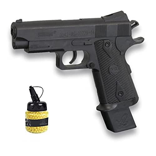 Pìstola Vigor A2 (Muelle) | Pistola de Airsoft (Bolas de plástico 6mm) + biberón de munición