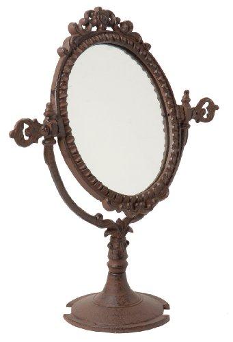 Vintage Tischspiegel Spiegel aus Gusseisen