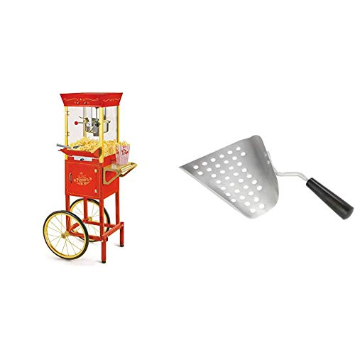 Nostalgia Concession CCP510 Vintage Professional Popcorn Cart-New 8-Ounce ...