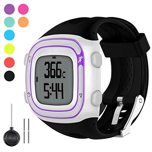 %27 OFF! Watbro Watch Band Compatible with Garmin Forerunner 10/ Forerunner 15 Running Watch, Soft S...