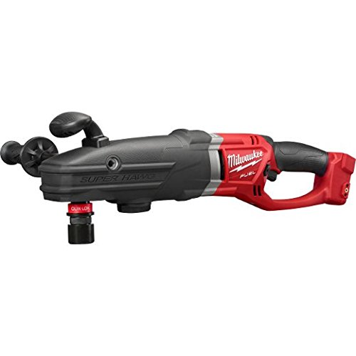 Milwaukee, 2711-20, Cordless Right Angle Drill, 22 in. L (Milwaukee 1 2 Right Angle Drill 1680)