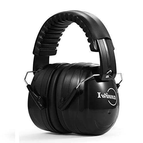 Lärmschutz Schallschutz Kopfhörer, Faltbar Kapselgehörschutz Ohrenschützer, Noice Cancelling für Autismus-Jagd-Baumaschine