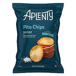Aplenty, Sea Salt Pita Chips, 8 oz