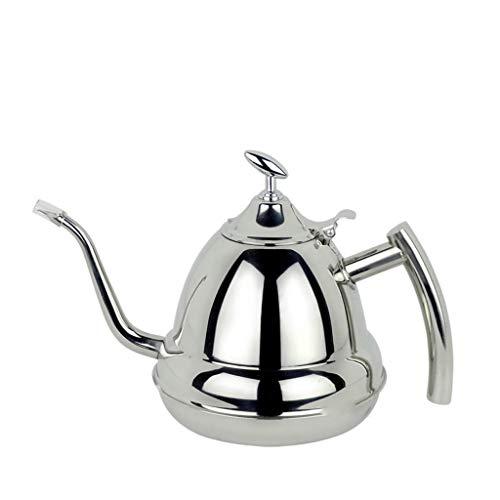 BLWX - Eten Grade 304 roestvrij staal Ketel Inductie Cooker Pot Koffie Theepot Ketel 1.2L Theeset Ketel ketel