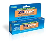 Maximum Strength ZitFree Acne Treatment Cream