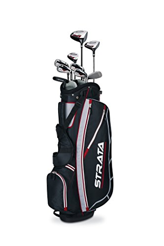 Callaway Men's Strata Complete Golf Club Set with Bag is the best choice