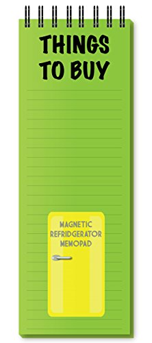 Things to Buy Green Magnetic Refrigerator Memo Pad