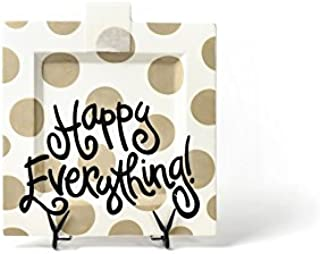 HAPPY EVERYTHING! Neutral Dot Big Square Platter