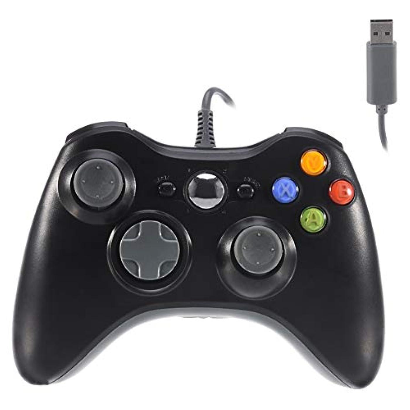 VOYEE Xbox 360 Controller,USB Wired Controller Gamepad for Microsoft Xbox 360,PC Windowns,XP,Vista,Win7 (Black)