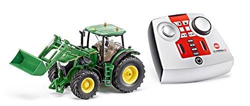 RC Auto kaufen Traktor Bild: DEMA John Deere 7R mit Frontlader, Fernsteuermodul/6777*