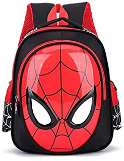3-6 Year kids bags School Bags For Boys Spiderman Waterproof Backpacks Child Spiderman Book bag Kids Shoulder Bag Satchel ...