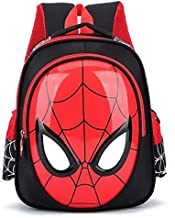 حقيبة مدرسية برسم سبايدرمان ثلاثي الابعاد من عمر 3-6 سنوات للأولاد، حقيبة تحمل على الظهر ومقاومة للماء لحمل كتب الطفل، حقيبة ظهر مدرسية تحمل على الكتف للأطفال.