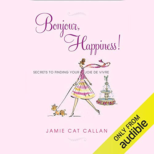 Bonjour, Happiness! audiobook cover art