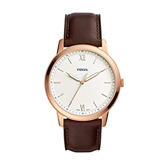 Fossil FS5463 The Minimalist 3H – para Hombre