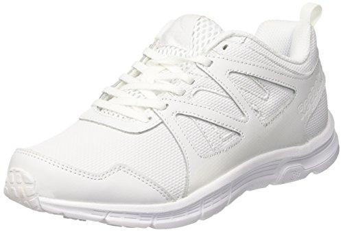 Reebok Run Supreme 2.0, Zapatillas de Running Unisex niños, Blanco (White/Steel), 37 EU