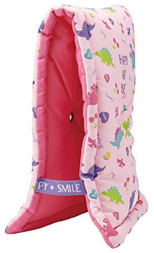 スケーター 座布団 椅子クッション 防災頭巾 子供用 24×42cm ハッピー&スマイル KBZU1