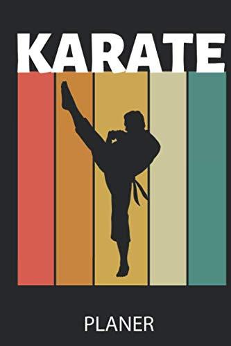 KARATE PLANER: A5 TAGESPLANER Karate Buch | Kampfsport für Kinder | Kampfkunst | Shotokan Karate | Karateka | Buch für Anfänger | Jugendliche | Japan