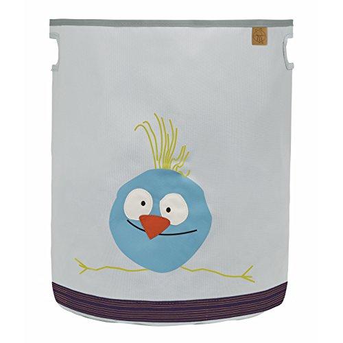 LÄSSIG Kinder Aufbewahrungskorb Aufbewahrungsbox Kinderzimmer Spielzeugkorb Organizer Wäschekorb/Toy Basket Wildlife Birdie