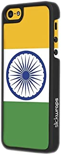 Slickwraps Flag Series the Case for iPhone 5c - India - Carrying Case - Retail Packaging - India