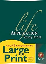 NLT Life Application Study Bible, Second Edition, Large Print (Red Letter, Hardcover)