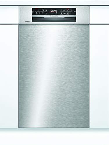 Bosch SPU6ZMS35E Serie 6 Lavavajillas empotrada, A+++, 45 cm, acero inoxidable, 188 kWh/año, 10 MGD, SuperSilence/EmotionLight/Zeolith® / Variocajón Pro/Home Connect
