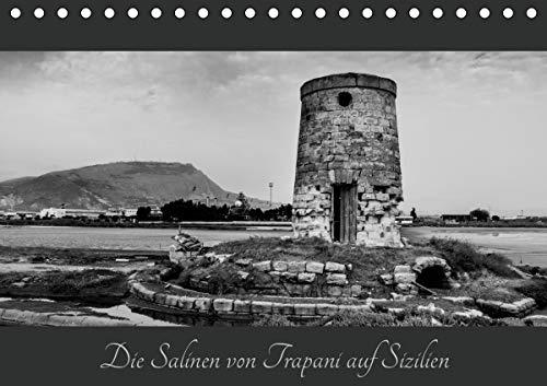 Die Salinen von Trapani auf Sizilien (Tischkalender 2021 DIN A5 quer)