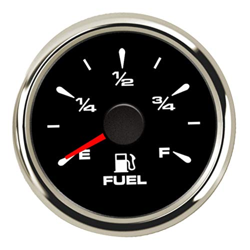 Homyl 52mm Indicateur Niveau de Carburant Compteur Mesurement Fuel Indicator Auto