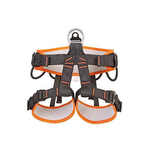 zvcv Half Body Climbing Harness Belt Thicken Rock Climbing Harness For Men Women For High Mountaineering Rock Climbing