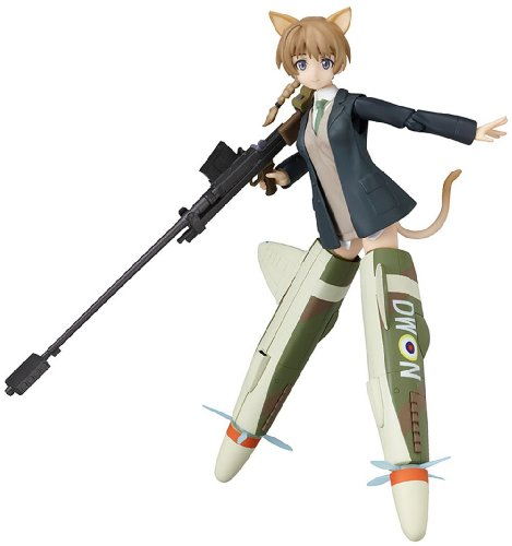 Strike Witches Lynette Bishop Figma PVC figurine