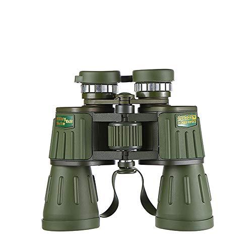 Tragbares Outdoor-Fernglas 10X50 Armee-Grün Big Okulare Ultra-Clear-Weitwinkel-Blickfeld, die für Konzerte verwendet Wird, kann, Fußballspiele und Outdoor-Reisen, usw.