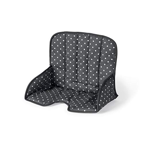 Geuther, Coussin d'assise chaise haute Tamino, Tissu, Gris avec Points