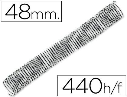Q-Connect KF04477 - Pack de 25 espirales metálicos