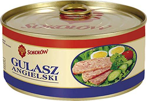 GroßhandelPL Sokolow Jaroslaw Konserwe Englisches Gulasch Fleischkonserve 6er Pack ( 6x290g)