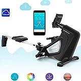 JHSHENGSHI Rudergerät/Rudergeräte Heimrudergerät/Fitness-Cardio-Training, einstellbaren Widerstand, für eine besseres Trainingsergebnis. - 5