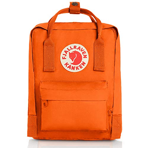 Fjällräven Unisex Rucksack Kånken Mini, burnt orange, 13.0 x 20.0 x 29.0 cm, 7 Liter