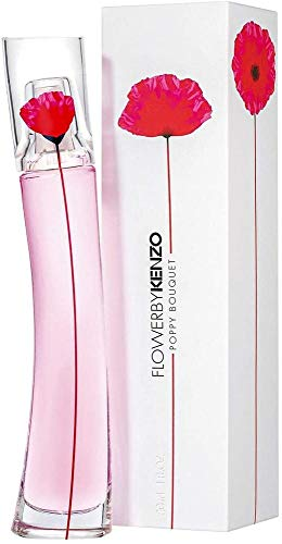 Kenzo Unisex Flower by Blume Poppy Bouquet EAU DE Parfum Florale 30ML, Negro, Standard