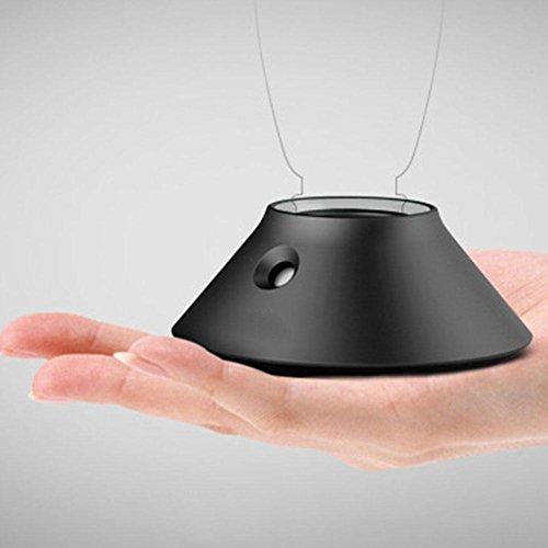 nachen USB-luchtbevochtiger voor waterfles, mini-diffuser, draagbaar, voor kantoor en huis in de auto Zwart