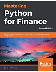 Mastering Python for Finance - Second Edition: Implement advanced state-of-the-art financial statistical applications using Python