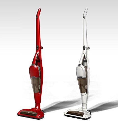 サイクロン掃除機 コードレスクリーナー サイクロニックマックス クイーン スティック&ハンディ 2WAY コードレス 充電式 掃除機 VS-6500 ベルソス VERSOS (赤)