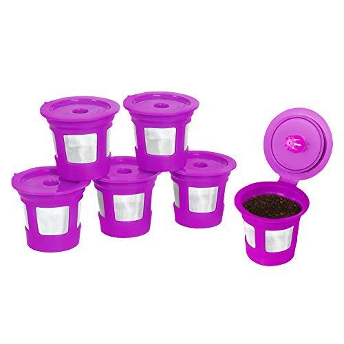 Perfect Pod - Filtros de café reutilizables Café Save - Cápsulas recargables con colador de malla integrado