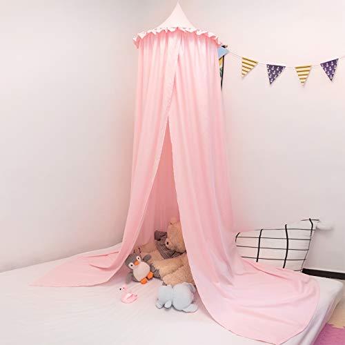 Betthimmel baby bett Baldachin Moskiton für Schlafzimmer Moskitonetz Insektenschutz Kinder Prinzessin Spielzelte rosa