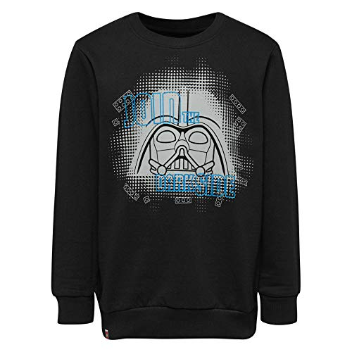 LEGO Wear Boy Star Wars-Cm-50121-Sweatshirt Sudadera, Negro (Black 995), 104 para Niños