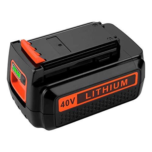 VANTTECH LBXR36 Battery 3.0Ah Replacement for Black+Decker 40V Battery Lithium-Ion Max LBX2040 LBXR2036 LBX2540 LBX1540 LST540 LCS1240 LST136W Cordless Power Tool for Black and Decker 40V 36V Batterie