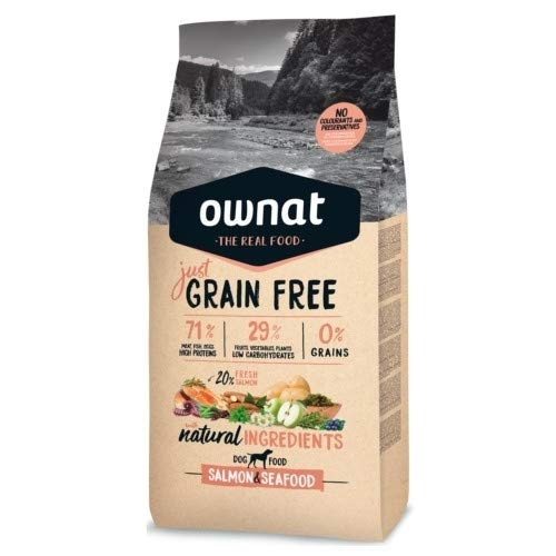 Ownat Dog Just Grain Free Salmon & Seafood 3000 g