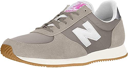 New Balance Zapatillas Deportivas para Mujer 220v1, Color Gris, Talla 34.5 EU