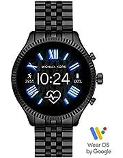 Michael Kors MKT5096 Women's Gen 5 Lexington Women's Smart Watch with Stainless Steel Strap, 44 mm, Multicolor