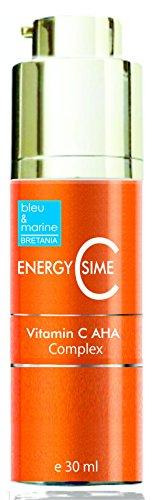 Sérum aux AHA & Vitamine C EnergyCsime 30 ml ● Prévient l'hyperpigmentation, tâches de vieillesse et les tâches dues au soleil
