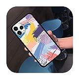 Lill Coque de téléphone pour iPhone 11 12 Pro XS MAX 8 7 6 6S Plus X 5S SE 2020 XR-a8-6Plus 6SPlus