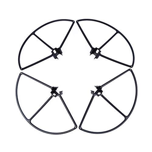 CHENJUAN 4Pcs Quick Release Propeller Guard for DJI Inspire 1 Drone Protector Blade Bumper Spare Parts Drone Protective Accessories Spare Propeller